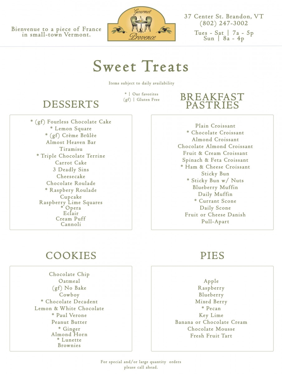 Gourmet-Provence_Brandon-VT_Sweet-Treat-scaled